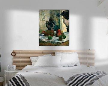 Stillleben mit dem Profil von Charles Laval, Paul Gauguin