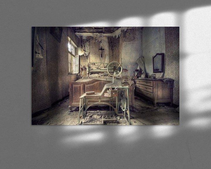 Beispiel: Urbex - Slaapkamer von Angelique Brunas