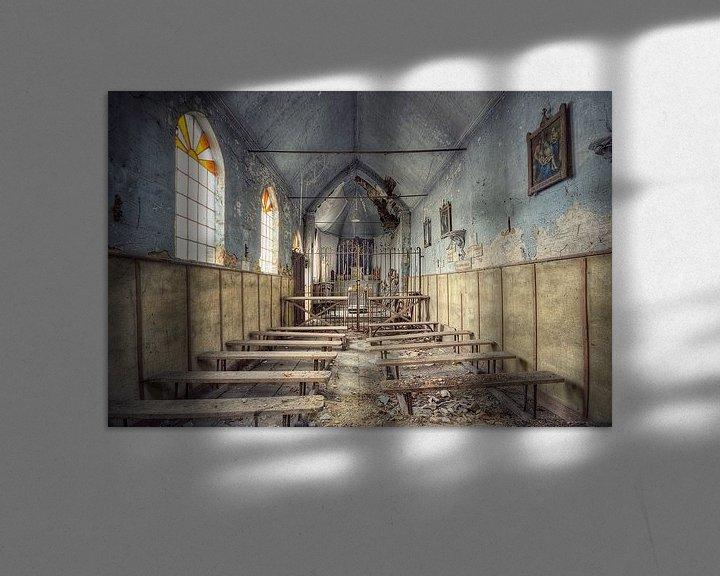 Beispiel: Urbex - Kapel von Angelique Brunas