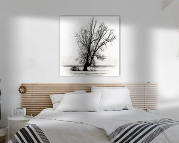 Leben und Tod in einem einsamen Baum von Art by Jeronimo