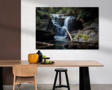 Wasserfall in der Eschenlaine sur Franz Nagler