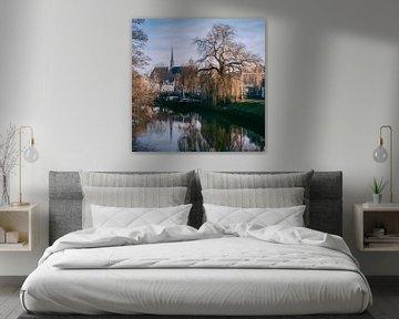 Winter Zwolle Netherlands sur Stefan Lucassen