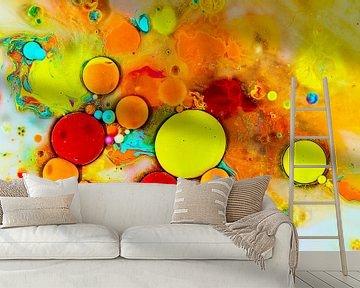 Regenboog bubbels von Rob Smit