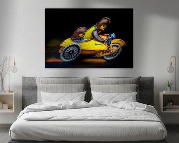 motorfiets met zijwagen 2791 von Rudy Umans