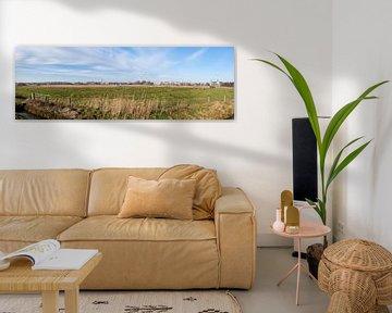 Skyline van 's-Hertogenbosch van Rob van Eerd