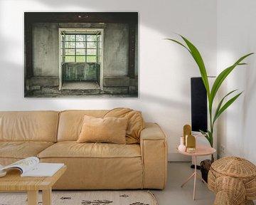 Quadratisches Fenster von Martijn Tilroe