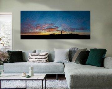 Vuurtoren Eierland Texel - zonsondergang von Texel360Fotografie Richard Heerschap