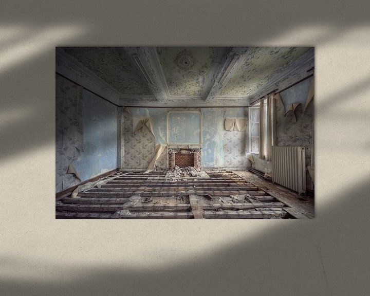 Beispiel: Urbex - Klooster kamer von Angelique Brunas