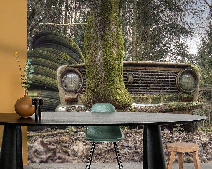 Beispiel fototapete: Urbex - Auto von Angelique Brunas