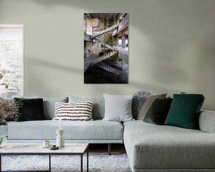Beispiel: Verlassene Treppe von Escher. von Roman Robroek