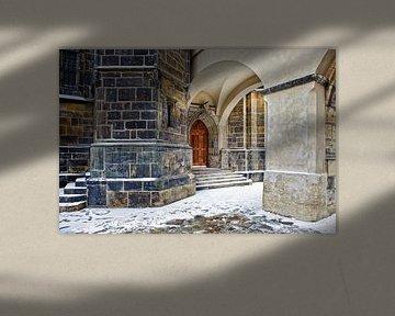 ingang Sint-Vituskathedraal van Rene du Chatenier