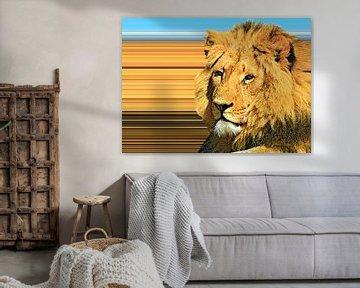 Löwe von Leopold Brix