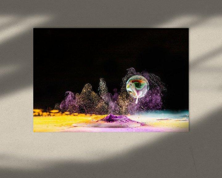 Sfeerimpressie: Opspattende knikker van Henry Nijen Twilhaar