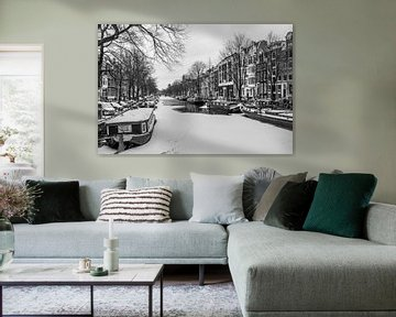 Winter in Amsterdam von Jellie van Althuis