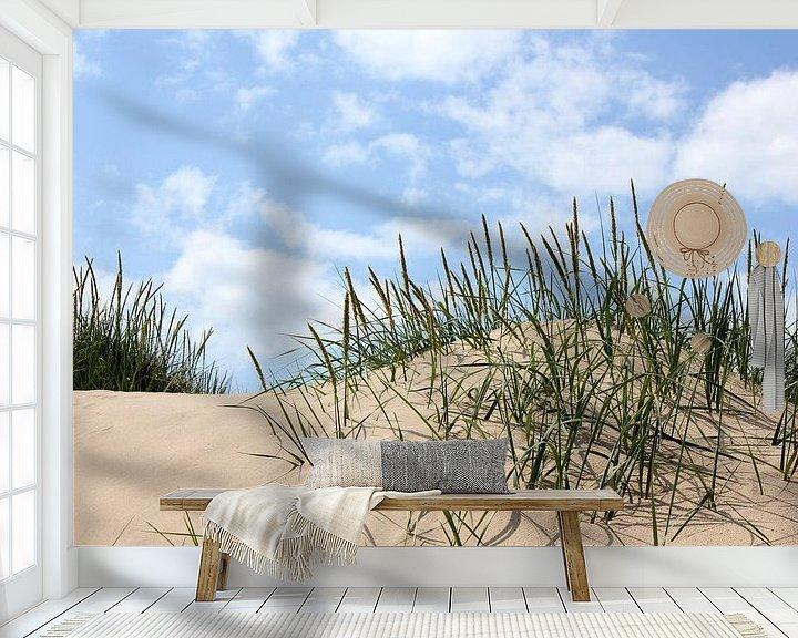 Beispiel fototapete: Strandhafer von Ostsee Bilder