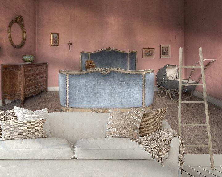 Beispiel fototapete: Urbex - Sweet dreams von Angelique Brunas