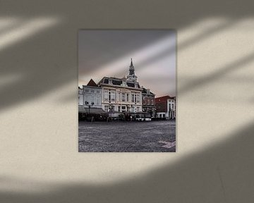 Grote markt in Bergen op Zoom van Kim de Been