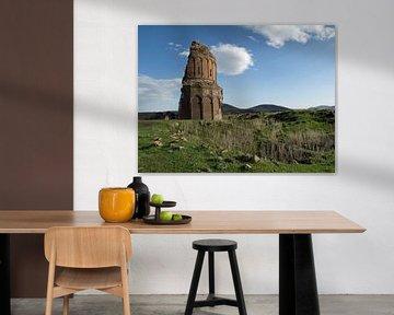 Ruine in de oude Armeense stad Ani (3)