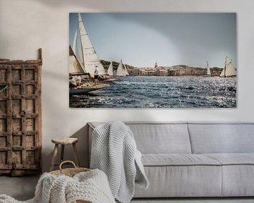 Les Voiles de Saint Tropez von Roosmarijn de Groot