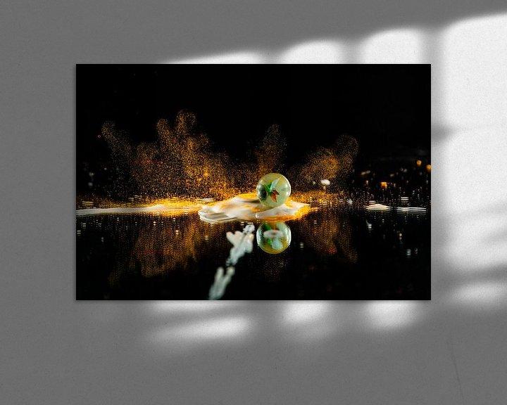Sfeerimpressie: Op spattende knikker van Henry Nijen Twilhaar