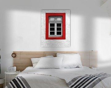 Rote Liste (Fenster) von Caroline Lichthart