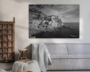 Ansicht von Manarola, Cinque Terre in Italien von Jasper van de Gein Photography