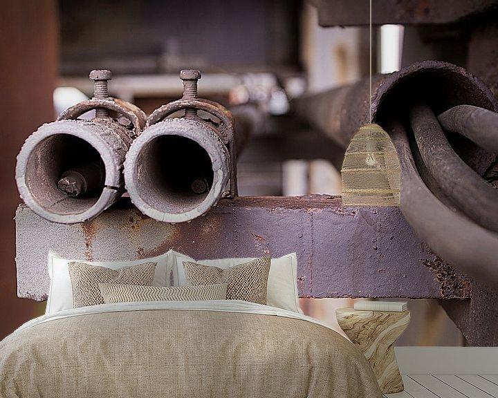 Sfeerimpressie behang: De fabriek van Birgitte Bergman