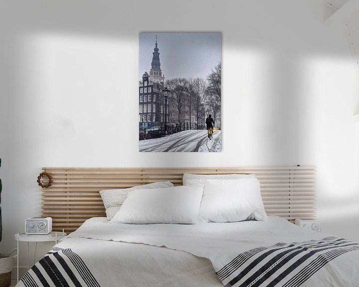 Sfeerimpressie: Amsterdam Winter Kloveniersburgwal van Hendrik-Jan Kornelis
