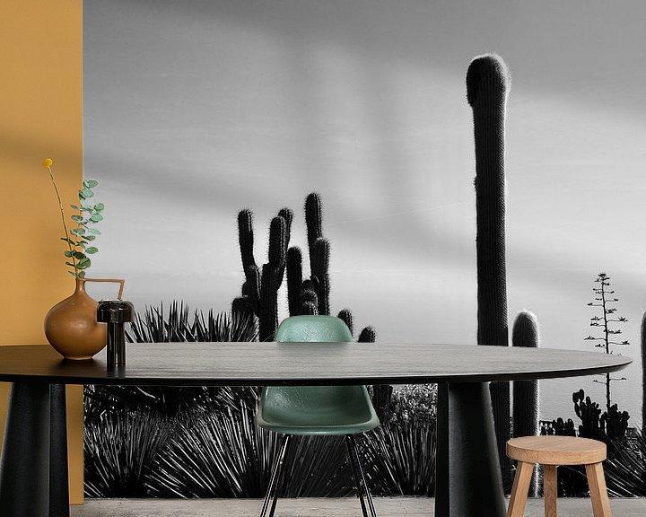 Sfeerimpressie behang: Cactuses van Dana Marin