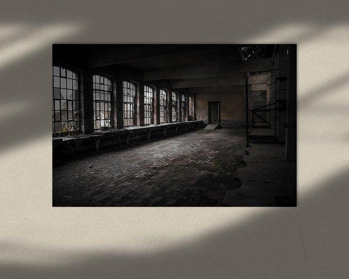 Sfeerimpressie: Verlaten Kristalfabriek van Michel Klanke