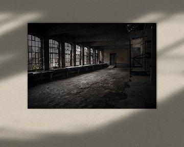 Verlaten Kristalfabriek van Michel Klanke