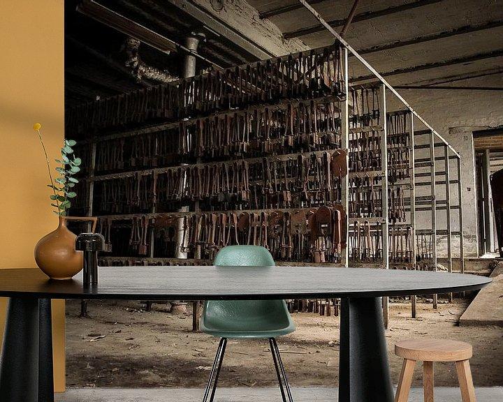 Beispiel fototapete: Verlassene Kristallfabrik von Michel Klanke
