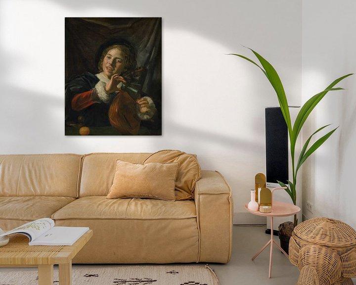 Beispiel: Junge mit einer Laute, Frans Hals