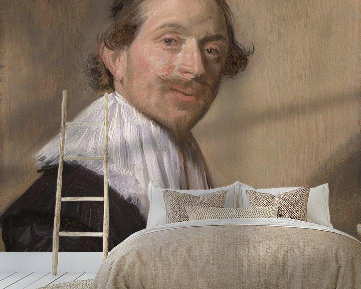 Beispiel fototapete: Porträt von Jean de la Chambre, Frans Hals