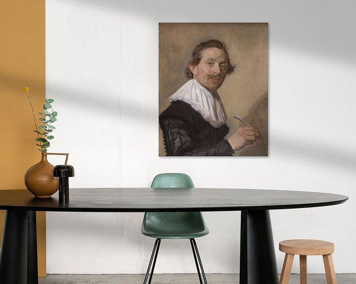 Beispiel: Porträt von Jean de la Chambre, Frans Hals