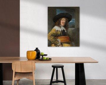 Porträt eines Mannes im Brustharnisch, Frans Hals