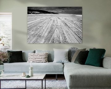 Auto sporen van Wouter Sikkema