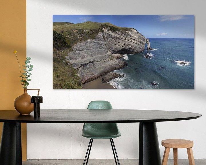 Beispiel: Cape Farewell, Neuseeland von Jeroen van Deel
