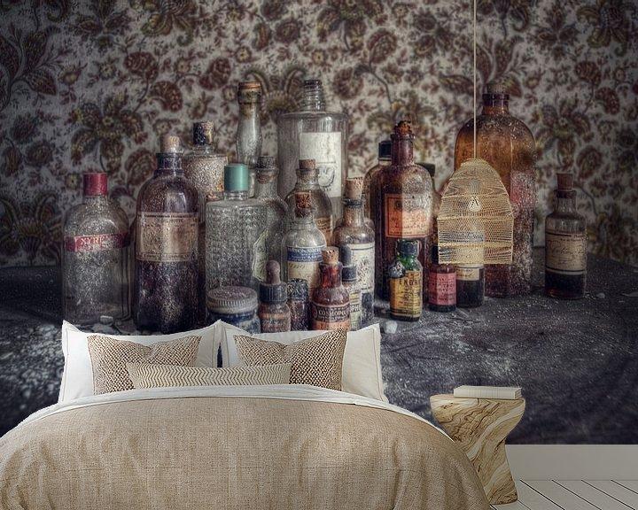 Beispiel fototapete: Urbex - Love potions von Angelique Brunas