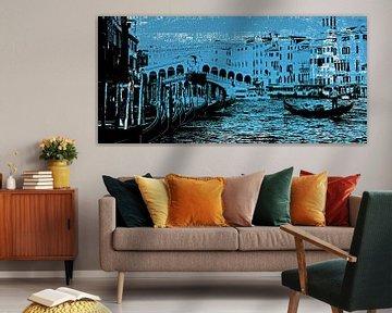 Venetië blauw von PictureWork - Digital artist