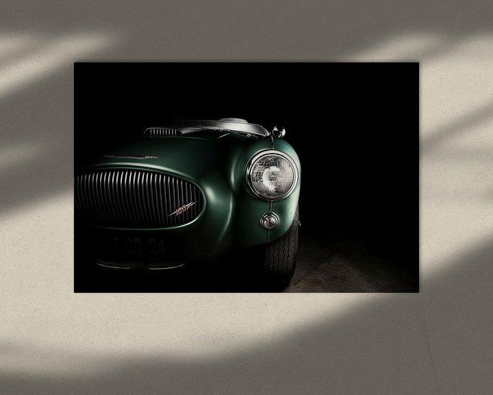 Sfeerimpressie: Austin Healey 100M Oldtimer - Classic car - Race van Thomas Boudewijn