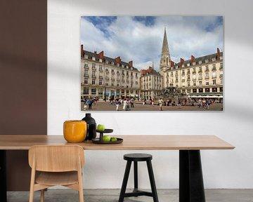 Place Royale Nantes von Dennis van de Water