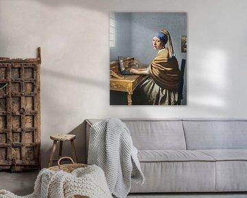 Liefdesbrief aan Johannes Vermeer van Jerome Coppo