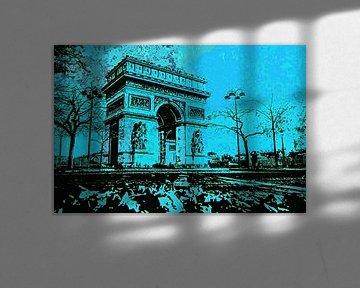 Arc de Triomphe a Paris van PictureWork - Digital artist