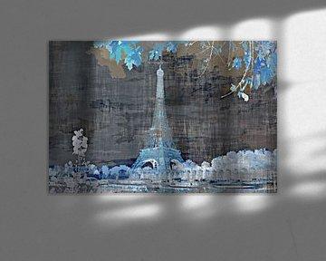 Eiffeltoren a Paris #1 van PictureWork - Digital artist