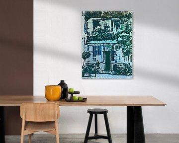 Cafe in Parijs Frankrijk van PictureWork - Digital artist