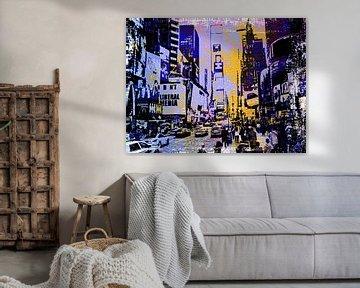 Times Square New York von PictureWork - Digital artist