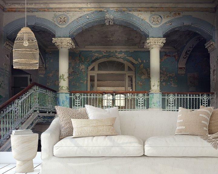 Beispiel fototapete: Urbex - Balkon von Angelique Brunas