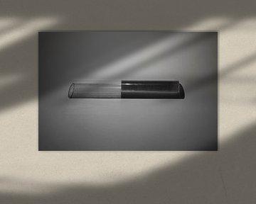 abstract minimalistisch beeld von Anneloes van Dijk