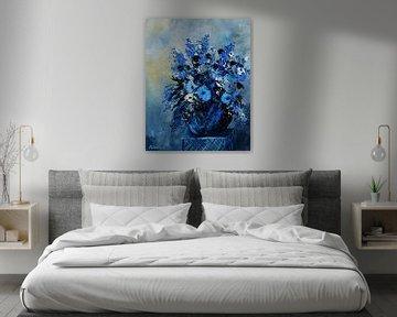Blue still life 45 von pol ledent
